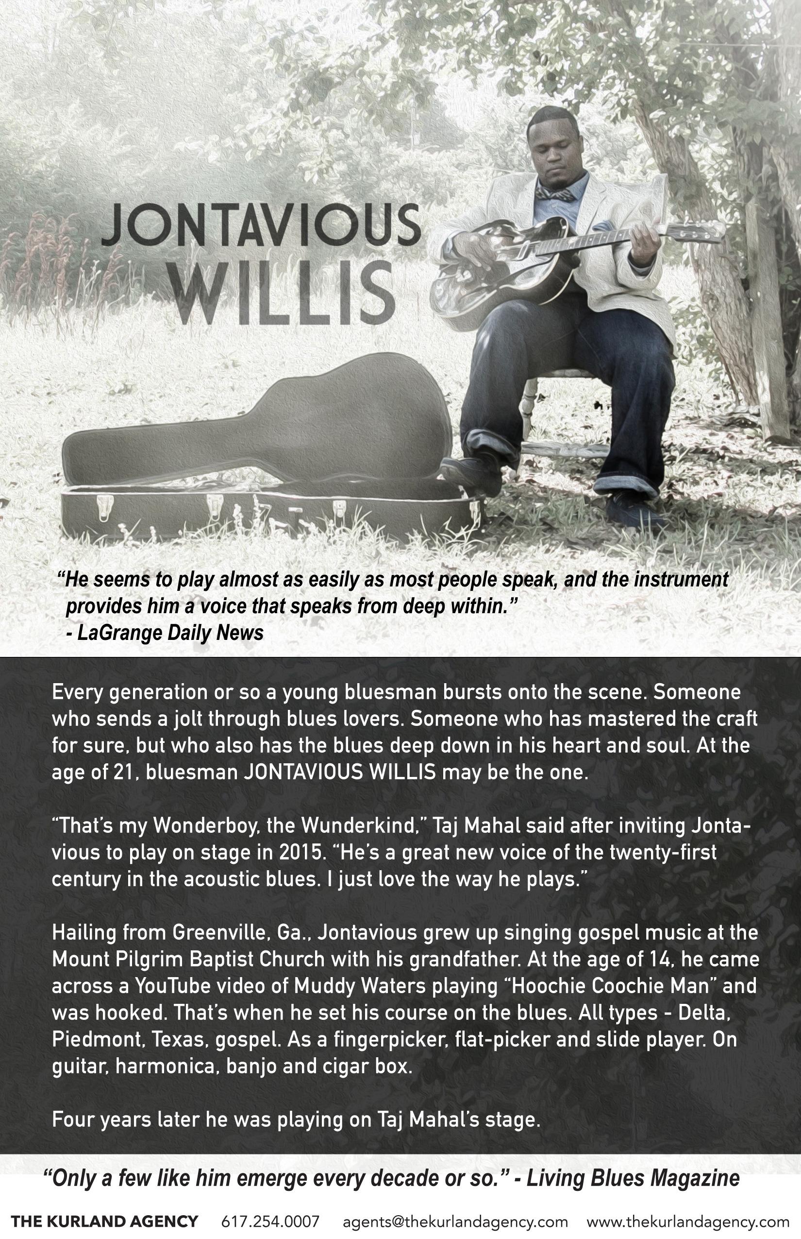 JontaviousWillis2018 - The Kurland Agency